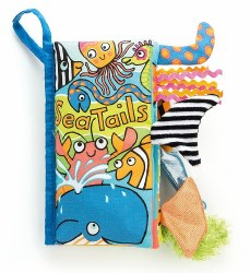 Jellycat - Soft Tails Book - Sea