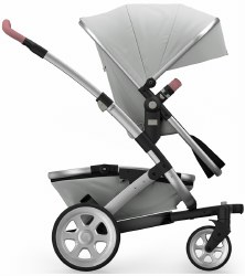 Joolz - Geo2 Tailor Mono Stroller - Silver/Silver/Silver/Old Pink