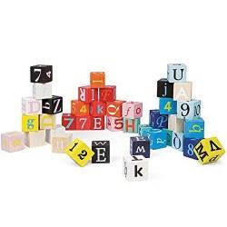 Janod -  Kubix 40 letters Toy