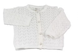 N L - Knitted Sweater White 3M