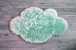 Rugs - Sheepskin Cloud Rug - Mint