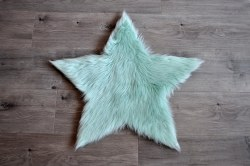 Rugs - Sheepskin Star Rug - Mint Large