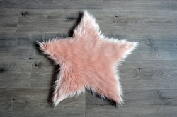 Rugs - Sheepskin Star Rug - Peach Large