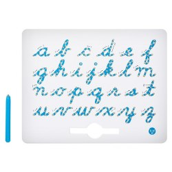 Kid O - A to Z Magnatab Cursive Lowercase Letters