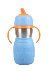 Kid Basix - Safe Sippy Cup - Blue
