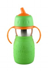 Kid Basix - Safe Sippy Cup - Green