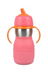 Kid Basix - Safe Sippy Cup - Pink