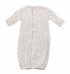 Kissy Kissy - Dots Converter Gown White/Silver NB