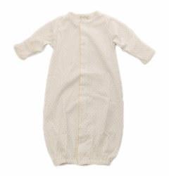 Kissy Kissy - Dots Converter Gown White/Yellow NB