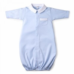 Kissy Kissy - New Beginning Gown with Collar Light Blue NB