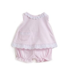 Kissy Kissy - Pastels Sunsuit 0-3 Pink