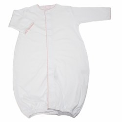Kissy Kissy - Premier Basic  Converter Gown White and Pink NB