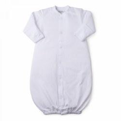 Kissy Kissy - Signature Converter Gown White NB