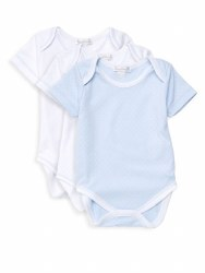 Kissy Kissy - 3 Pack Short Sleeve Dots Body Blue 0-3