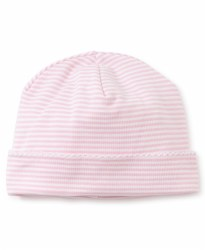 Kissy Kissy - Simple Stripes Hat Pink NB