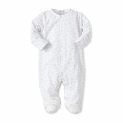 Kissy Kissy - Baby Elephants Footie Grey 0-3