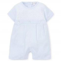 Kissy Kissy - Short Playsuit Touch of Elegance - Blue 0-3