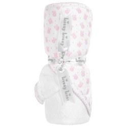 Kissy Kissy - Hooded Towel with Mitt Beloved Bear Towel - Pink