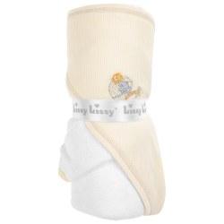 Kissy Kissy - Hooded Towel with Mitt - Mini Ark Yellow