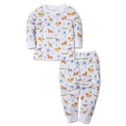 Kissy Kissy - Pajama 2-Piece Set Jungle Junket - Multi 12-18M