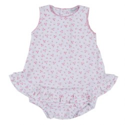 Kissy Kissy - Little Girl's Dream Ruffle Bubble - Pink 0-3