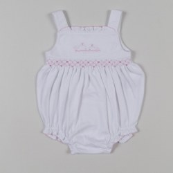 Kissy Kissy - Endless Summer Bubble - White/Pink 0-3