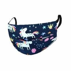 Kushies - Kids Face Washable Mask - Unicorn