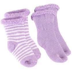 Kushies - Newborn Terry Socks - Lilac