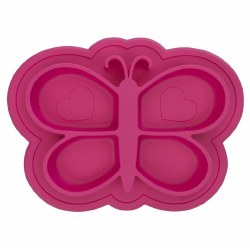 Kushies - Silicone Siliplate - Butterfly Candy