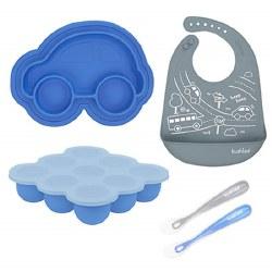 Kushies - SiliSet Silicone Gift Set - Blue
