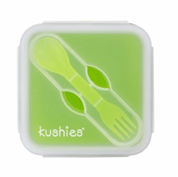Kushies - Silibox Silicone Container - Lime