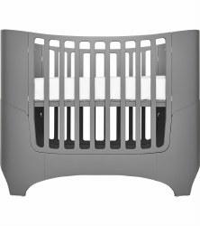 Tulip - Leander Convertible Crib - Grey