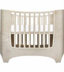 Tulip - Leaner Convertible Crib - White Wash