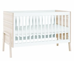 Furniture - Natural Crib/Cot Bed White