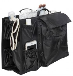 Life in Play - Tote Savvy Organizer Tote Insert - Classic Black