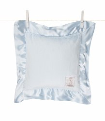 Little Giraffe -  Luxe Pillow - Blue