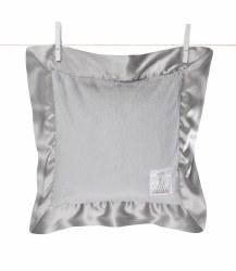 Little Giraffe -  Luxe Pillow - Silver