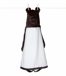 Little Giraffe -  Luxe Hooded Towel - Mocha