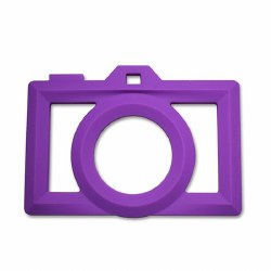 Little Standout - Teether Camera Purpel