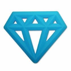 Little Standout - Teether Diamond Blue