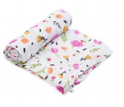 Little Unicorn - Cotton Muslin Swaddle Single - Berry and Bloom