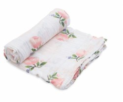 Little Unicorn - Cotton Muslin Swaddle Single - Watercolor