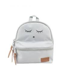 Livly Baby - Mini Backpack - Sleeping Cutie Grey