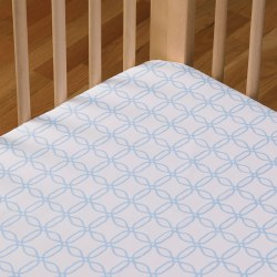 Lolli Living - Cotton Popplin Fitted Sheet - BluLinks