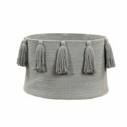 Lorena Canals - Basket Tassels - Light Grey