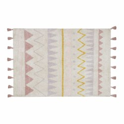 Lorena Canals - Azteca Natural Washable Rug - Vintage Nude