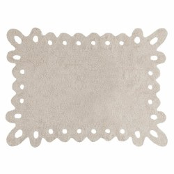 Lorena Canals - Lace Washable Rug - Beige