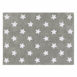 Lorena Canals - Stars Washable Rug - Grey/White