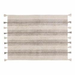 Lorena Canals - Stripes Glacier Washable Rug - Grey