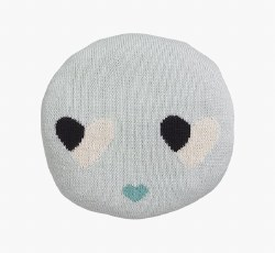 Lucky Boy Sunday - Chair Pillow - Sweetheart Blue